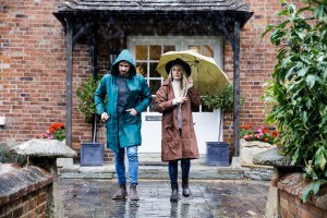 salt and coconuts, The Original Muck Boot Company, Photoshoot, Broadway, The Cotswolds, Raining, Chelsea Boots