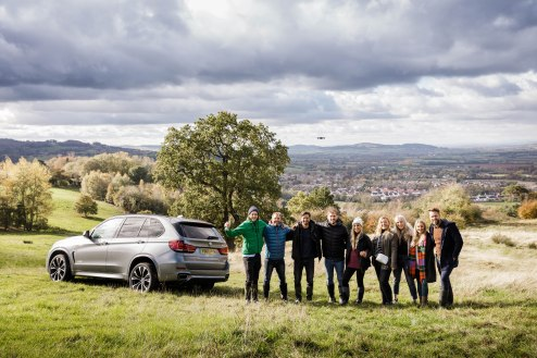 salt and coconuts, The Original Muck Boot Company, Photoshoot, Broadway, The Cotswolds, BMW, Team
