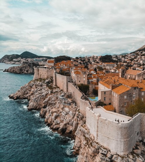 The Old Town, Drone, DJI, Birds Eye View, Dubrovnik, Croatia, Salt and Coconuts, Travel, Explore, The Old Town, Historical buildings, Architecture