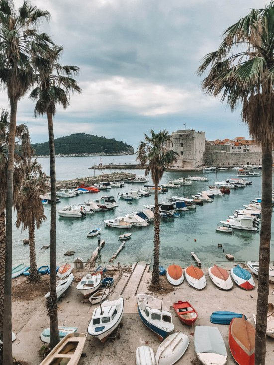 Salt and Coconuts, Travel, Dubrovnik, Croatia, Harbour, Castle, The Old Town, Historic Walls, Boats, Beautiful, peaceful, Photography