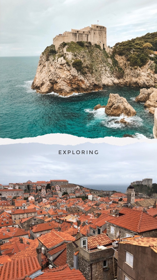 Salt and Coconuts, Travel, Dubrovnik, Croatia, Europe, Beautiful, Scenery, Landscape, Castles, Game of Thrones, City Walls