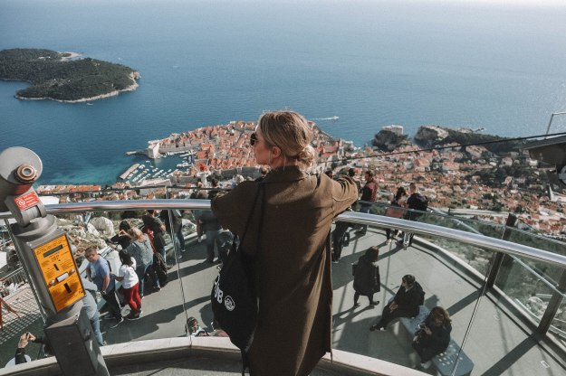 Salt and Coconuts, Travel, Dubrovnik, Croatia, Harbour, Castle, The Old Town, Views, Cable Car, Mountains,
