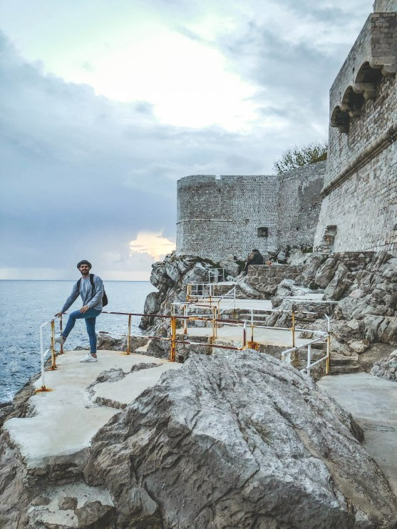 Salt and Coconuts, Travel, Dubrovnik, Croatia, Game of Thrones, Secret Walls, Find Louis, Cliffside, The Old Town, Explore, Sea, Views