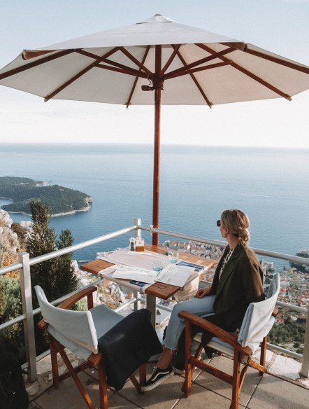 Salt and Coconuts, Croatia, Panoramic Restaurant, 360, Dubrovnik, Insane Views, Sea, Cable Car, Nautika Restaurant , Crazy Views, Inspiring