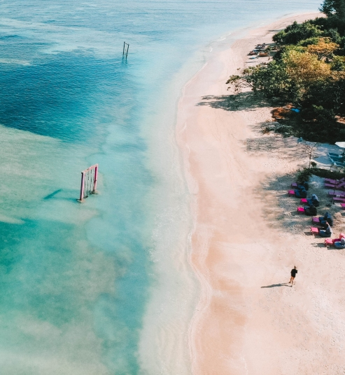 Gili Air, Salt and Coconuts, Travel, Drone, DJI , Birds Eye View, Beach , paradise, Wow, Find Louis, Sea, Blue,