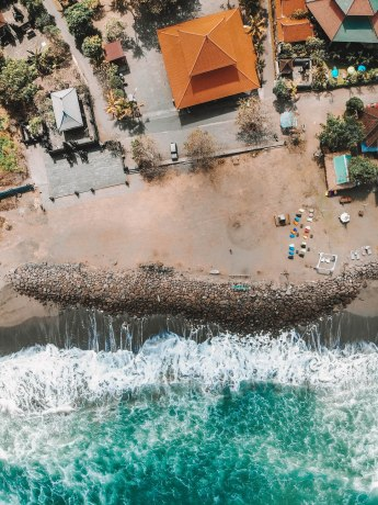 Find Louis, DJI, Drone, Camera, Sky, Birds eye view, Sea, Beach, Blue, Cool